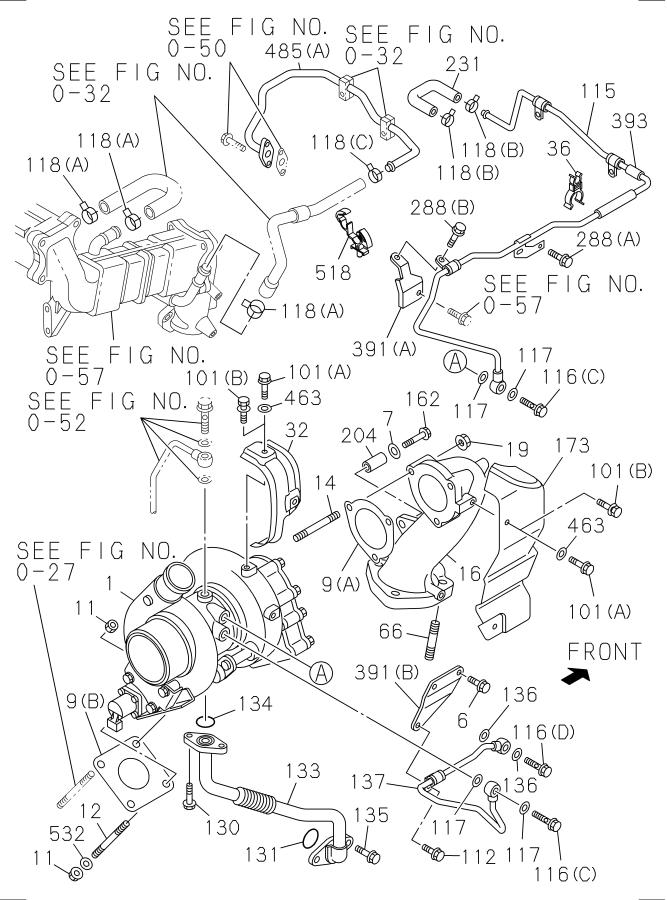 2010 isuzu npr turbocharger as  eng  prod  ulbr